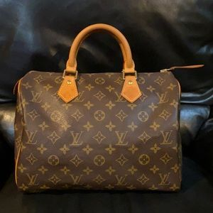 🔥🔥🔥Louis Vuitton Speedy 30 Handbag